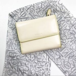 Lodis Audrey French Leather Ivory Trifold Wallet
